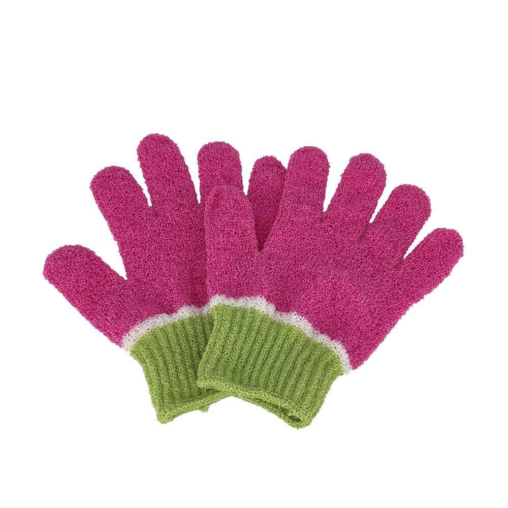 nylon bath glove