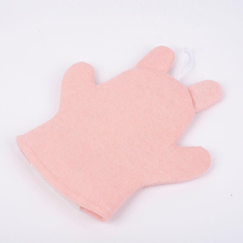 rabbit puppet bath scrubber glove